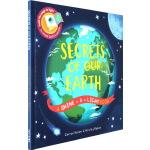 Secrets of Our Earth 英文原版 精装 小达尔文大发现系列 地球的秘密 Shine A Light