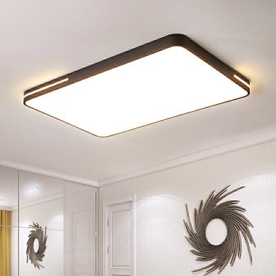 客厅超薄LED吸顶灯简约现代创意长方形卧室阳台餐厅办公室灯具