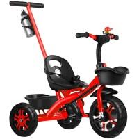 儿童三轮车宝宝手推车幼儿5-1-3岁小孩子脚踏自行车大号玩具童车