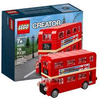 【当当自营】LEGO乐高创意小颗粒 40220 伦敦巴士