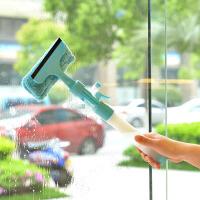 可喷水窗户玻璃清洁器清洁刮可喷水窗户玻璃清洁器 玻璃刮瓷砖 蓝色
