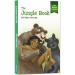 森林王子 丛林故事 英文原版 The Jungle Book 易读名著经典 简写插画版世界文学名著 儿童全彩版