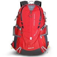 超轻骑行背包双肩包男女悬浮透气背负 户外小登山包 40L 送防雨罩