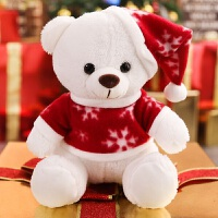 大号圣诞老人玩偶麋鹿布娃娃雪人公仔毛绒玩具可爱圣诞节日礼物