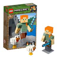 【当当自营】乐高LEGO 我的世界系列 21149 主角人仔亚历克斯