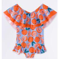 儿童泳衣女童小中大童可爱宝宝小公主婴儿连体游泳衣