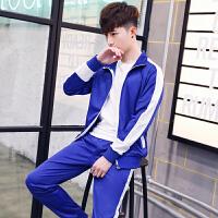 卫衣男士套装长袖休闲韩版潮流运动服学生两件套2018春季新款男装