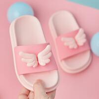 儿童拖鞋夏女童男童小孩室内家居家用可爱亲子宝宝防滑软底凉拖鞋