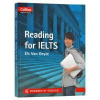 正版现货 柯林斯雅思阅读 英文原版 Collins Reading for IELTS 雅思考试指南 进口书 全英文版