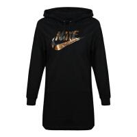 Nike耐克2018年女子AS W NSW DRESS METALLIC GX套头衫AA2298-010