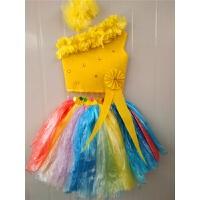 六一�和�演出服�h保服�b�和��r�b秀DIY手工女童公主裙子�b走秀 �\灰色 如�D29