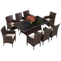 户外桌椅组合阳台藤椅小茶几三五件套庭院花园室外休闲家具椅露台