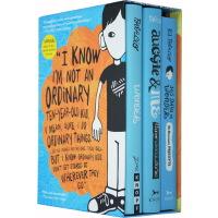 奇迹男孩 英文原版小说 Wonder boxed 3册盒装 纽约时报畅销书
