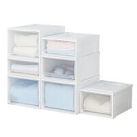 爱丽思收纳箱抽屉式衣柜内收纳盒家用塑料整理箱衣服储物箱