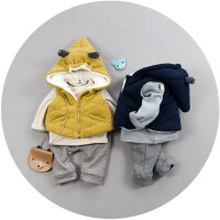 20180505024401175男童装秋冬款套装婴儿小童衣服宝宝冬装0-1-2-3岁加厚棉衣外套潮