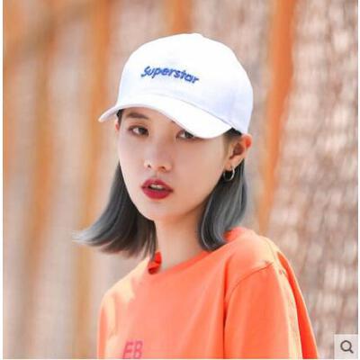 帽子女韩版青年潮人学生街头逛街遮阳鸭舌帽男百搭情侣棒球帽
