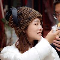 帽子女 可爱护耳时尚韩版百搭学生韩国针织帽毛线帽