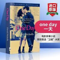 华研原版 One Day 一天英文版 英文原版电影原著小说 外文经典爱情小说畅销书籍 英文版 安妮海瑟薇主演 正版进口