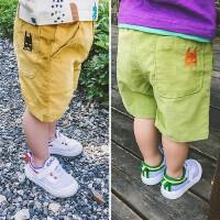 儿童短裤2016夏装童装宝宝夏季中裤男童裤子小孩潮五分裤热沙滩裤