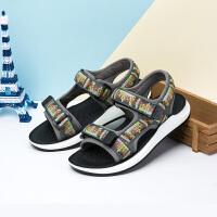 童鞋 男童中小童夏季学生沙滩鞋户外凉鞋儿童鞋子