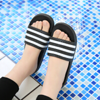 夏天拖鞋女生夏季韩版室内防滑浴室洗澡家居家情侣塑料凉拖鞋男潮