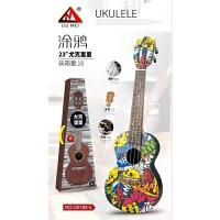 尤克里里初学者学生女男21寸23寸乌克丽丽儿童ukulele小吉他