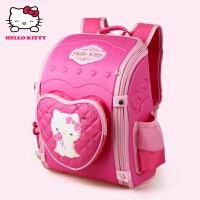 Hello Kitty凯蒂猫 KT1008A玫红 可爱儿童书包小学生女孩减压护脊EVA双肩背包 当当自营