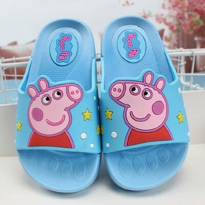 儿童拖鞋小猪佩奇社会人男童女童居家宝宝浴室凉拖鞋防滑新款