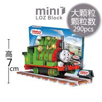 【当当自营】LOZ俐智mini颗粒积木托马斯小火车系列创意拼装玩具 培西1803