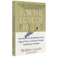 爱上物理英文原版书For the Love of Physics我在MIT教物理英文版 正版进口英语书籍麻省理工公开课