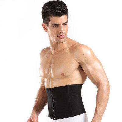 收腹带束腰男收啤酒肚 塑腰薄款透气户外运动护具