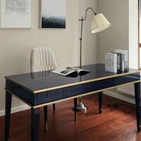 书房家具套装组合办公桌地中海书桌现代简约轻奢桌子美式书桌 否