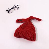 �和�帽子�n版蝴蝶�Y�敉�r尚女童帽子����加厚�o耳�帽保暖帽