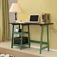 美式书桌 实木写字台 地中海电脑桌 田园办公桌 家用小书桌