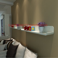 客厅电视墙置物架一字隔板沙发背景墙面装饰架烤漆书架壁挂展示架