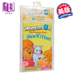 【中商原版】贝贝熊一家 新的小猫咪 英文原版 The Berenstain Bears' New Kitten CD有