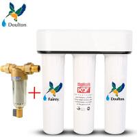 霍尼韦尔前置过滤器FF06-3/4AA+Fairey道尔顿FIP301厨房台下直饮净水器