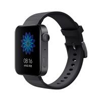 XiaoMi/小米手表智能4G全�Wtong通��{牙wifi多功能防水�\�佑�步GPS定位NFC刷公交地�F�T禁 典雅黑