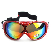 户外滑雪镜防雾抗冲击 男女款滑雪眼镜登山护目镜 可卡近视