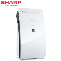 夏普(SHARP) 空气净化器 KC-CE50-W 家用卧室加湿型除甲醛 PM2.5 无雾加湿智能遥控
