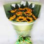 向日葵花束祝福礼物生日鲜花速递 送父亲领导同事朋友北京上海天津武汉广州全国 同城鲜花店配送