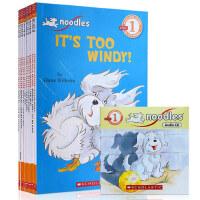 顺丰发货 Scholastic reader阶段Noodles 10-Book Boxed Set 小狗杜豆儿套装(10本书 CD)和小狗杜豆儿一起学英语~学乐分级读本系列之小狗杜豆儿系列