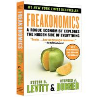 魔鬼经济学 英文原版 Freakonomics 华研原版