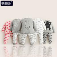 婴儿衣服套装季0岁3个月宝宝春款内衣新生儿两件套春装新年
