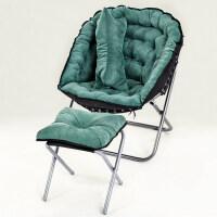 创意懒人沙发椅单人榻榻米简约卧室客厅迷你可爱休闲折叠阳台躺椅B 三件套