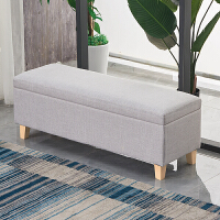实木床尾凳储物换鞋凳家用门口服装店试衣凳长方形沙发凳简约收纳