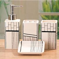 卫浴洁具 陶瓷卫浴四件套 组合卫浴套装 款式颜色随机发送