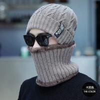 帽子男韩版潮针织帽加绒加厚包头帽户外防风毛线帽男士保暖帽