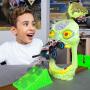 怪物卡车MONSTER JAM1:64儿童玩具车越野怪兽大脚车攀爬惯性合金小汽车模型回力大轮车场景套装