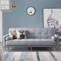 北欧乳胶沙发床可折叠客厅双人三人简易小户型坐卧两用书房沙发定制 2米以上